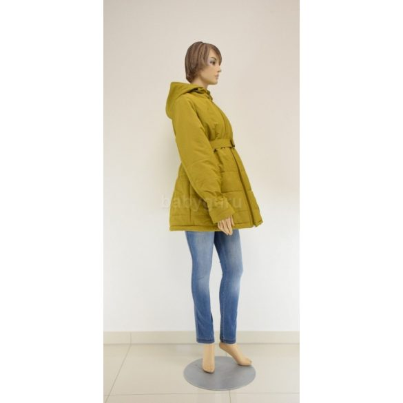 Kismama dzseki mustár sárga