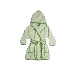 Vaganza frottír gyermek köntös-zöld