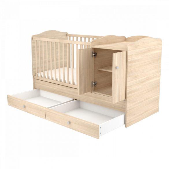 Maxi Kombi 2 ajtós gyermekágy ( Kombiágy ) Borostyán