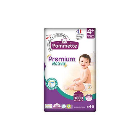 Pommette Premium Active pelenka (4+) 9-20kg (46db)