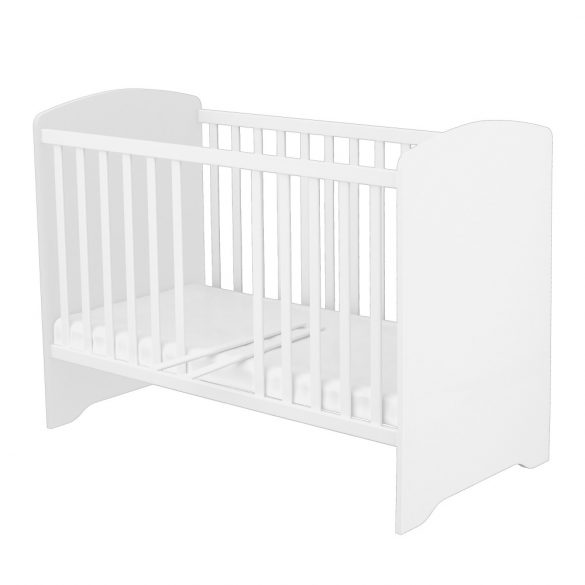 Kombinált 3 fiókos gyermekágy ( Kombiágy ) Ezüst-Fehér