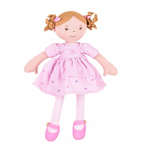 Amelia – Barna haj/ rózsaszín ruhában Dobozban