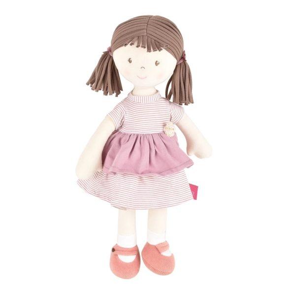 Brook – Barna haj/ rózsaszín ruha, természetes pamutból