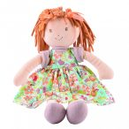 Libby Lu – Barna haj/ nyomott narancssárga ruha Dobozban