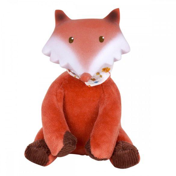 Játék róka, természetes gumiból és pamutból