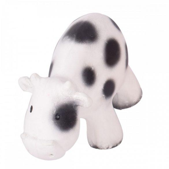 Játék tehén, természetes gumiból