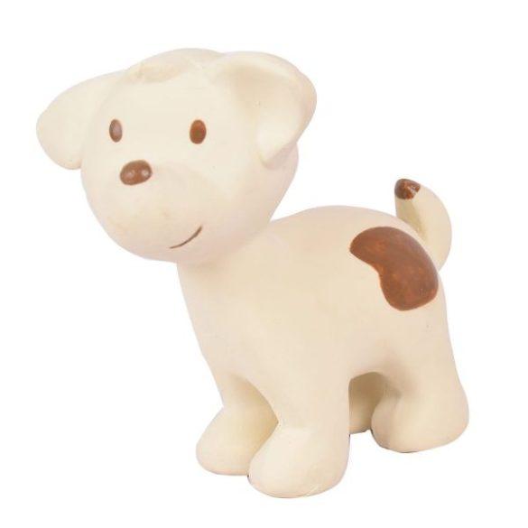 Játék kiskutya, természetes gumiból