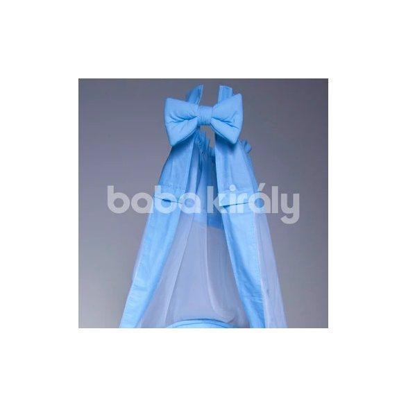 Babakirály baldachin-Kék csíkos