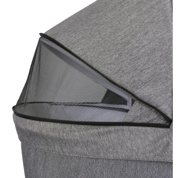 KUNERT MOLTO babakocsi - Fekete cirkás 2021-es modell !
