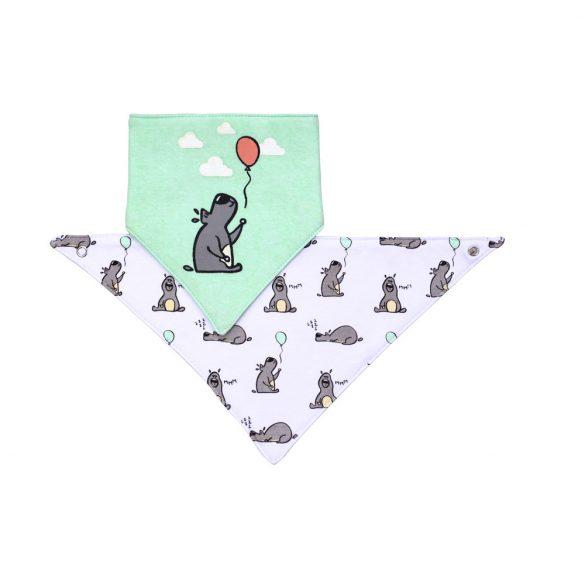BabyOno előke háromszög 2db-os kutya --879/02