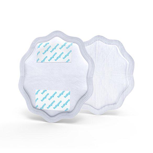 BabyOno Natural Nursing eldobható melltartó betét 24db fehér --298/01