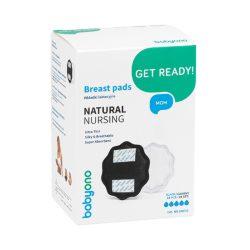 BabyOno Natural Nursing eldobható melltartó betét 24db fekete --298/02