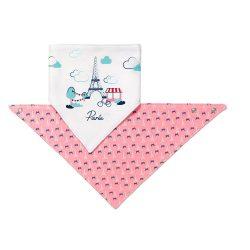 BabyOno előke háromszög 2db-os Paris --879/07