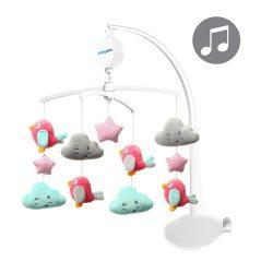 BabyOno zenélő-forgó felhők és madarak
