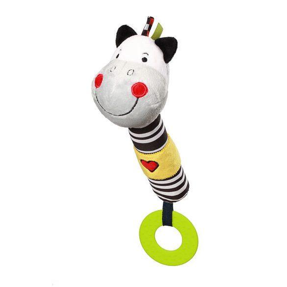 BabyOno plüss sípoló C-MORE Zack zebra- 634