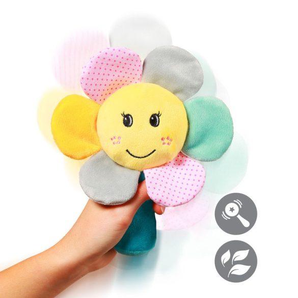 BabyOno plüss csörgő Rainbow flower virág --609