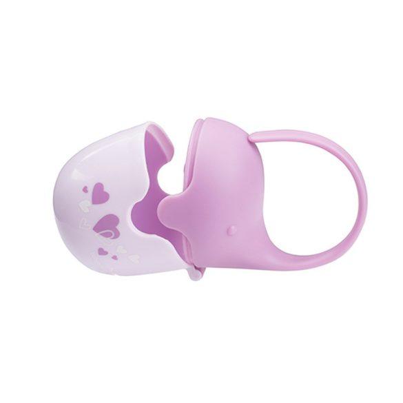 Babyono Cumitartó doboz elefánt lila