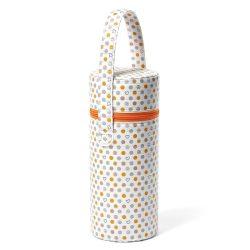 BabyOno cumisüveg melegentartó standard 604/02 narancssárga pöttyös