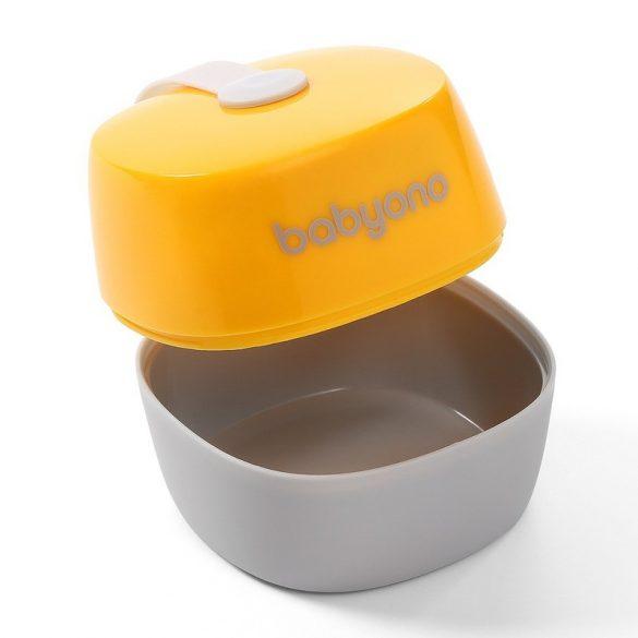 BabyOno Cumitartó doboz sárga