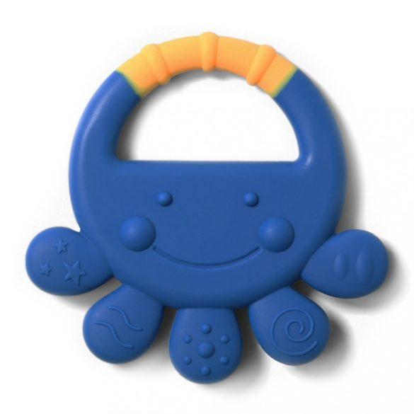 BabyOno rágóka szilikon Vicky polip kék #934