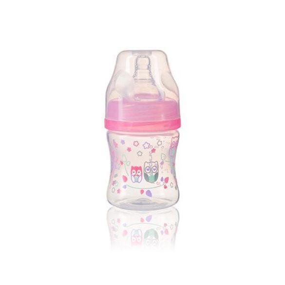 BabyOno cumisüveg műa. szélesnyakú anticolic 120ml 402/02 rózsaszín