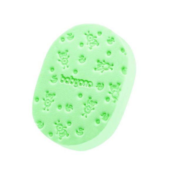 BabyOno puha babafürdető szivacs 063 --zöld