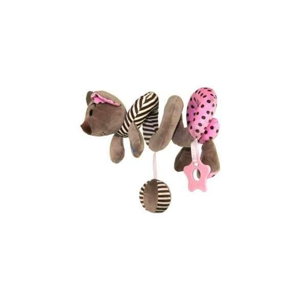 Baby Mix spirálos egérke pink