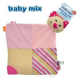 Baby Mix cica szundikendő pink