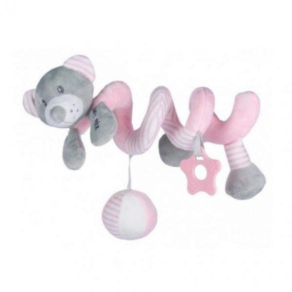Baby Mix spirálos maci pink