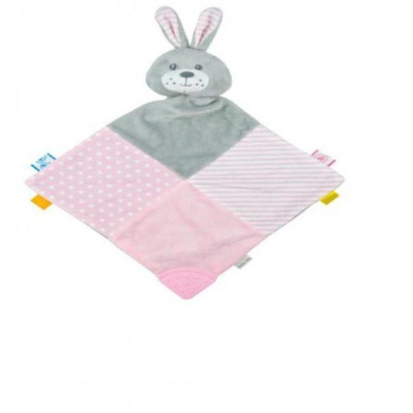 Baby Mix nyúl szundikendő pink