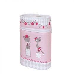 Ceba Baby Termosz - Duble / Dupla rózsaszín cica