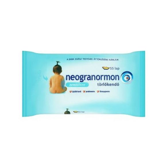 Neogranormon sensitive illatmentes popsitörlő (55db)