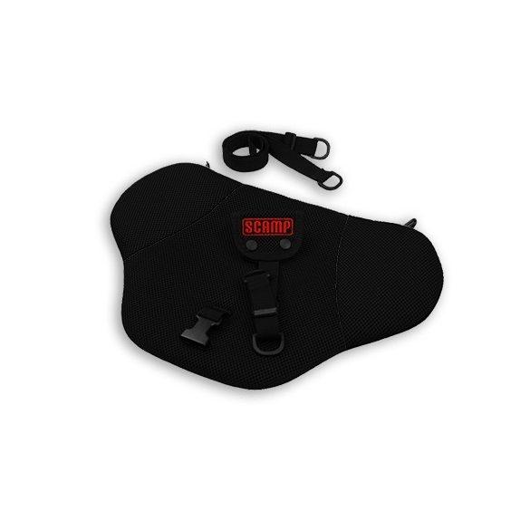 Scamp biztonsági övterelő fekete-fekete színben - PSBAblack
