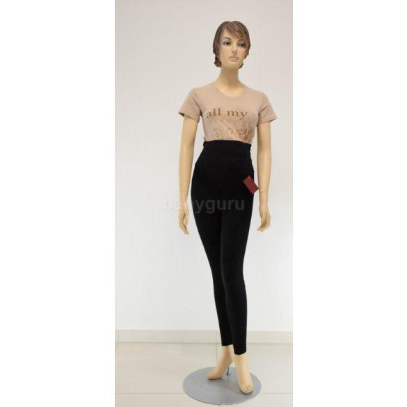 Pamut leggings fekete