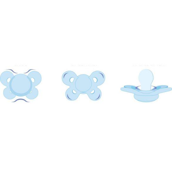 Chicco NaturalFeeling cumi physio comfort 6-12hó 1db lány