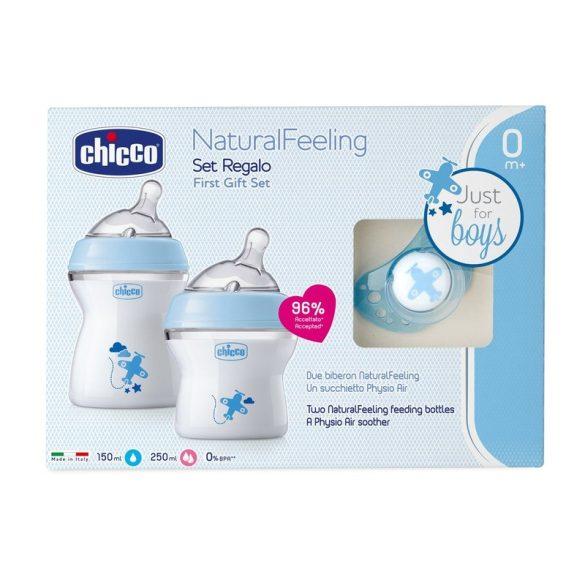Chicco NaturalFeeling ajándékszett lány