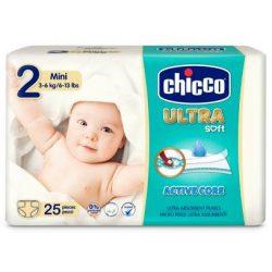 Chicco Ultra Soft pelenka 3-6kg 25db mini