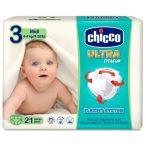 Chicco Ultra Fit&Fun pelenka 4-9kg 21db midi
