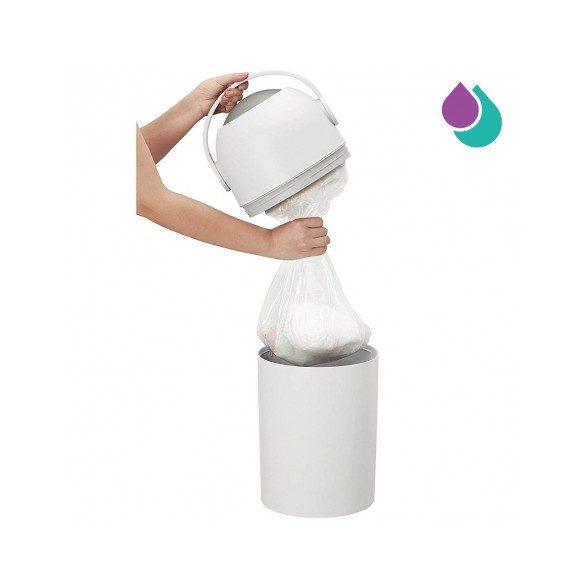 Chicco Pelenkatároló 0h + Normál szemetes-zsákkal használatos - pink