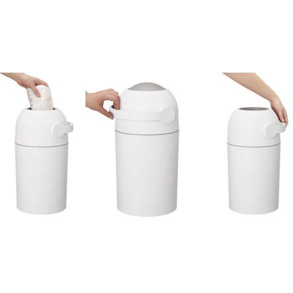 Chicco Pelenkatároló 0h + Normál szemetes-zsákkal használatos - szürke