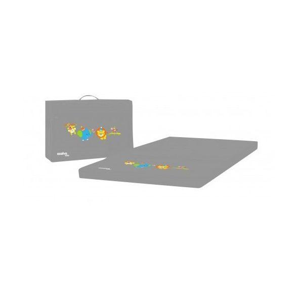 ASALVO összecsukható matrac utazóágyba Birthday Grey