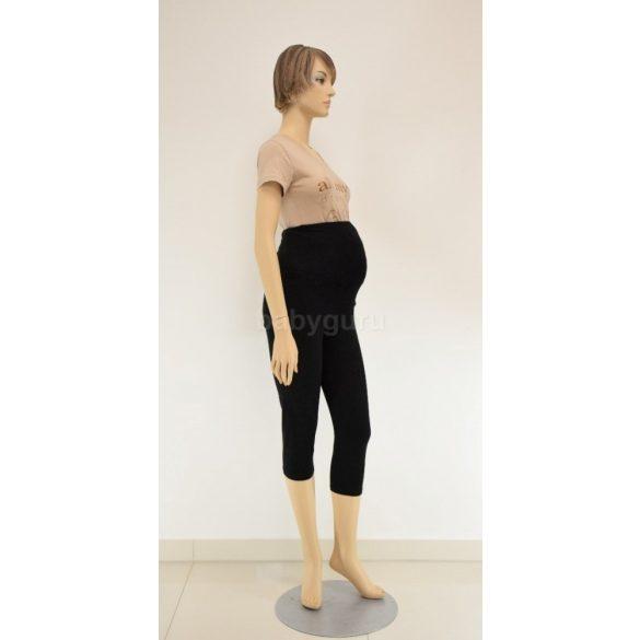 3/4-es leggings fekete