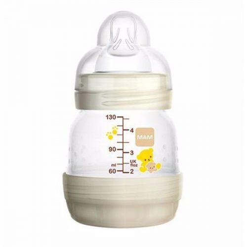 MAM Anti-colic cumisüveg 130ml + Ajándék játszócumi